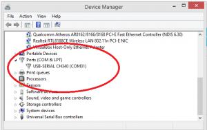Windows 10 CH340 Driver