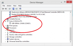 Windows 10 CH340 Driver